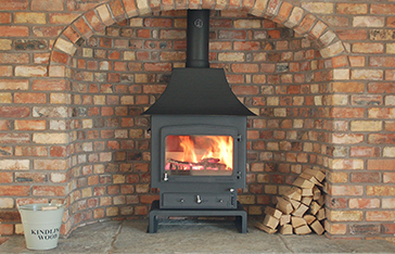 Woodwarm wood burning Stoves